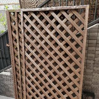 木製ラティス   ウッド  園芸  柵