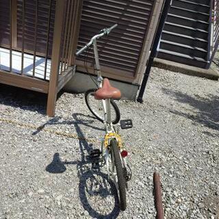 【ネット決済】DAHON折りたたみ自転車