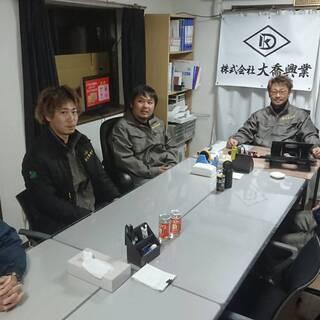 未経験から職人・管理者 急募!!