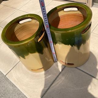 メダカ鉢(鉢カバー)2個セット