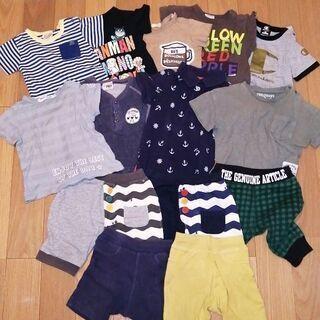 90~95 半袖Tシャツ9枚 ボトムス5枚