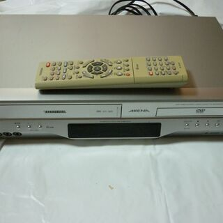 【ジャンク】VHSビデオデッキ(DVDプレーヤーは使用不可)