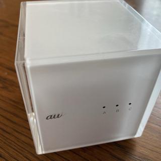 【Wi-Fiルーター】au Cube