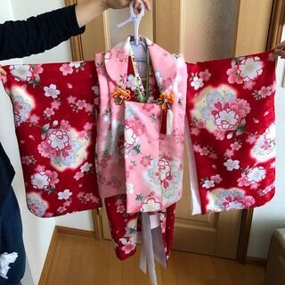 七五三(3歳)女の子用着物