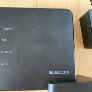 【ELECOM】Wi-Fiルーター中古