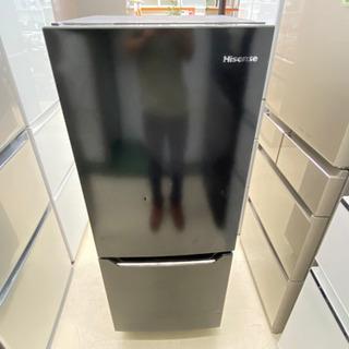 '19 Hisense 2ドア冷蔵庫 150L ブラック …