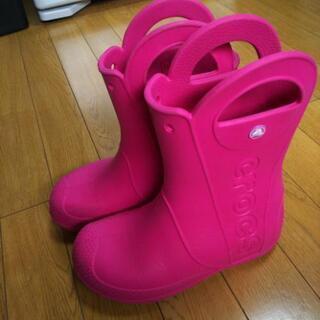 クロックス長靴 20㎝ ②