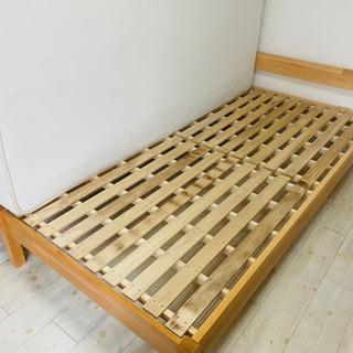 【ネット決済】⦅5月23日まで⦆無印良品 パイン材ベッド
