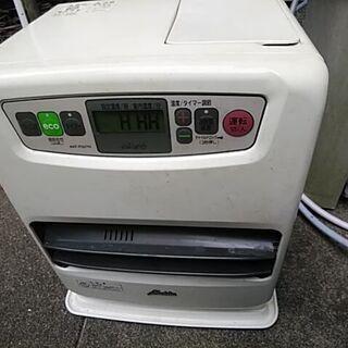石油ファンヒーター ジャンク品 NO2