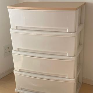 収納BOX・チェスト 4段