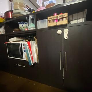中古 対面キッチンカウンター
