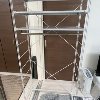 【ネット決済】無印良品 スチールラック 約幅86×奥行41×高さ...