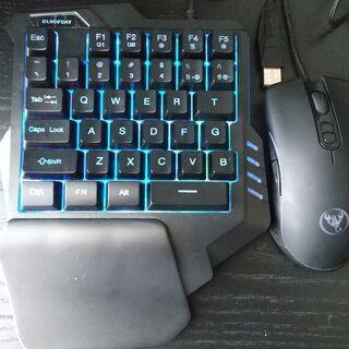ゲーム用 片手キーボード(G92)&マウス(A867)