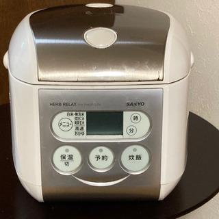 炊飯器3.5合炊き
