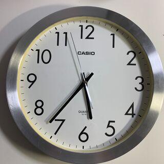 カシオ製 大きい掛け時計 直径35cm