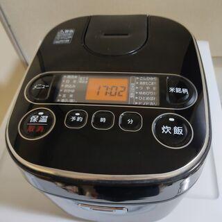 炊飯器 マイコン式 5.5合 アイリスオーヤマ 極厚銅釜 …