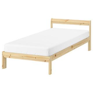 【ネット決済】ベッド マットレス付き  (IKEA)