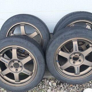 RAYS TE37 ブロンズ タイヤ付きホイール4本セット