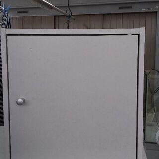カラーボックス1段扉付き