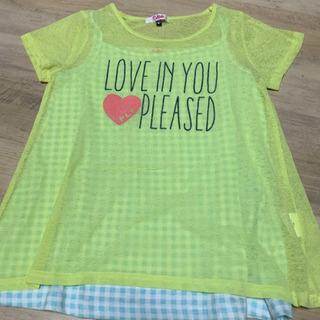 ピンクラテ Tシャツ S 160