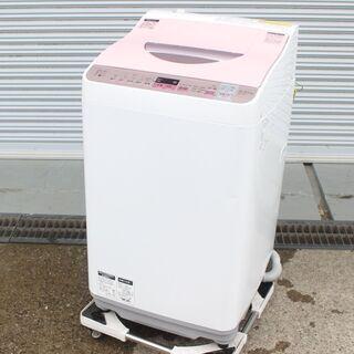 T995) シャープ 全自動洗濯機 ES-TX5A-P 洗…
