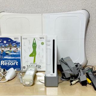 早い者勝ち!本体+Wii Fi tとバランスボード Wiiスポー...