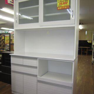 R088 大宝工業 キッチンボード、食器棚、幅117cm 美品