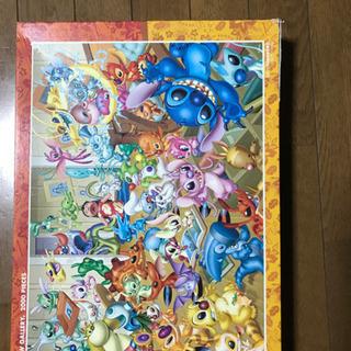 ディズニーステッチ2000ピースパズル