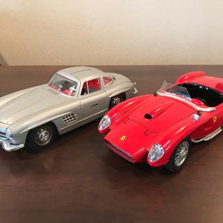 アンティックカー ベンツとフェラーリセット
