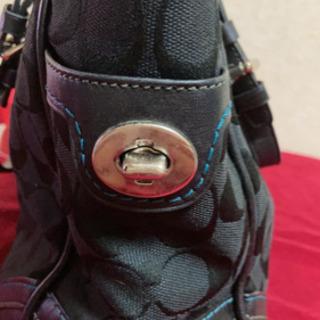 5MKO348 COACH  ハンドバッグ  黒 シンプル