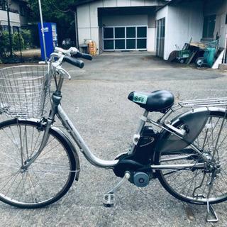 856番  電動自転車✨ Panasonic ビビ ENE662‼️