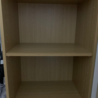 カラーボックス② 2段(中木板取り外し可)