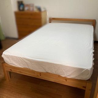 無印良品ベッド&マットレスのセット セミダブルサイズ(決まりました)