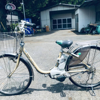 862番  電動自転車✨ Panasonic ビビ END63‼️