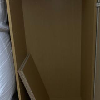 カラーボックス③ ※段無し 木板2枚付き