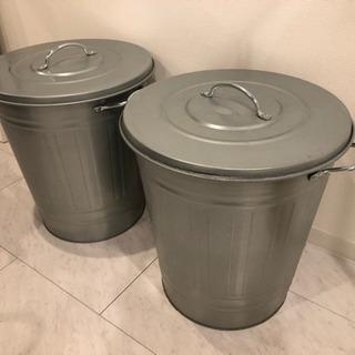 IKEA ゴミ箱2つ