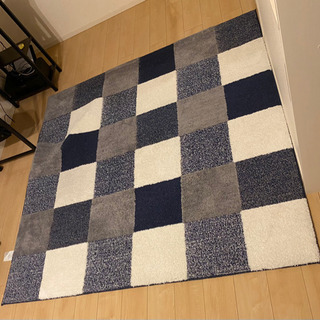 185×185 カーペット ラグ 絨毯