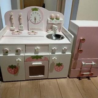 【ネット決済】マザーガーデン キッチン 冷蔵庫
