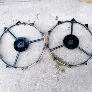 田植機 補助輪(鉄)