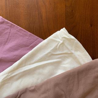 掛け布団の衿カバー 3枚組
