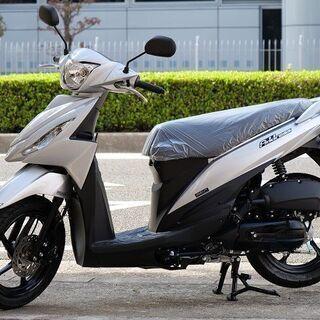 新車 SUZUKI アドレス110 シルバー すぐに納車可…