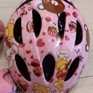 子供用ヘルメット、プロテクター(肘、膝)