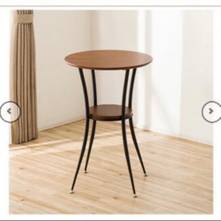 ニトリ カウンターテーブル カフェテーブル