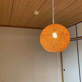 ボールランプ 照明 和室 モダン 無料 プレゼント - 草津市