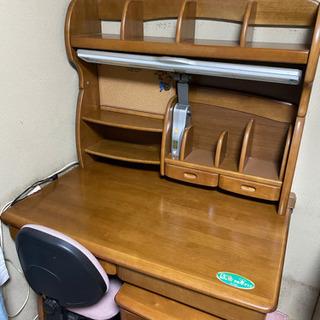 木製の学習机