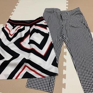 スカート パンツ サイズL