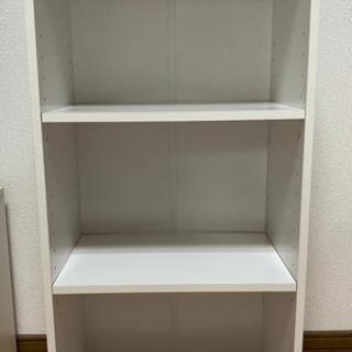 白 カラーボックス 3段