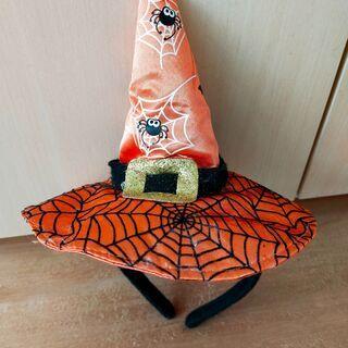【ペット用】ハロウィンの帽子