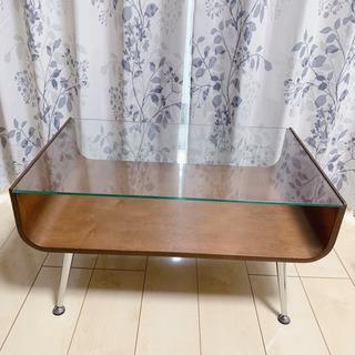 ガラステーブル センターテーブル ローテーブル ガラス天板