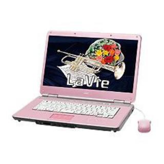 【ネット決済】ノートPC NEC LaVie LL73C/T ピンク